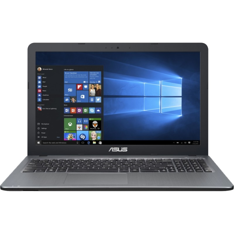 Asus Vivobook 15,6inch Full HD, AMD A6-7310, 8GB, 256 GB SSD, Windows 10 Home